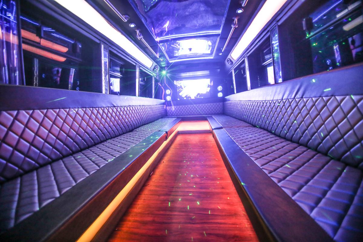 Oakville party bus service